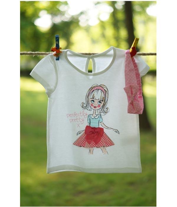 tricouri fetite 1 - 2 ani