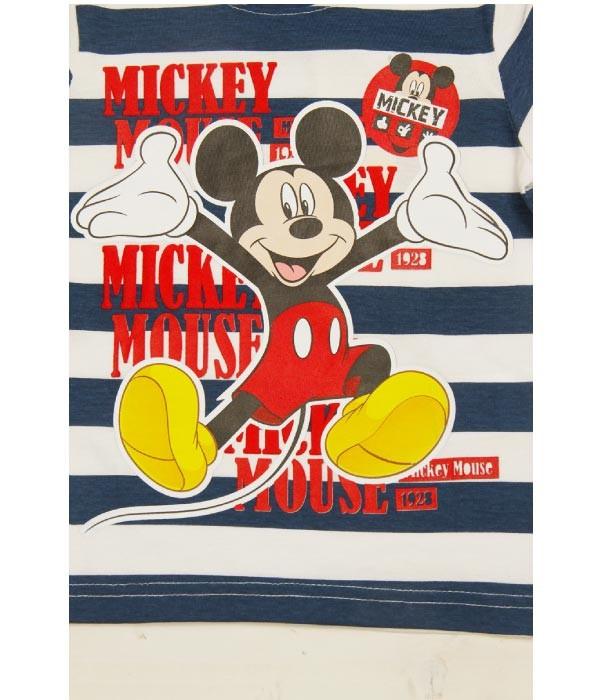 tricou detaliu Mickey Mouse, Disney, baietei 3-8 ani