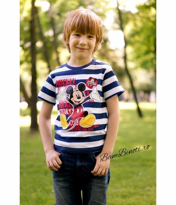 tricouri Mickey Mouse baieti, Disney 7-8 ani