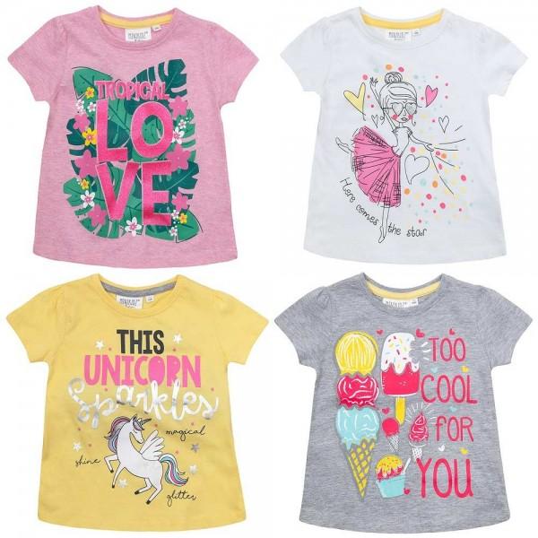 tricouri fetite 2-3-4-5-6 ani unicorni, floricele, inimioare